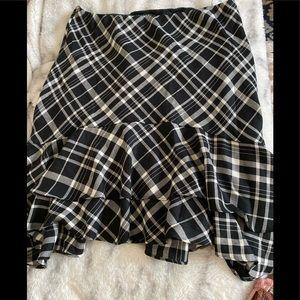 Lauren Ralph Lauren Ruffle Hem Skirt L